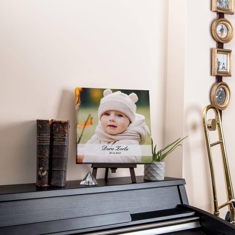 Yeni Doğan Bebek Hediyesi Kanvas Tablo