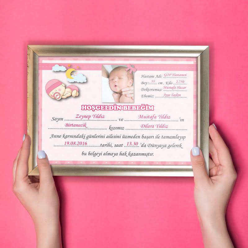 Yeni Doğan Bebek Sertifikası