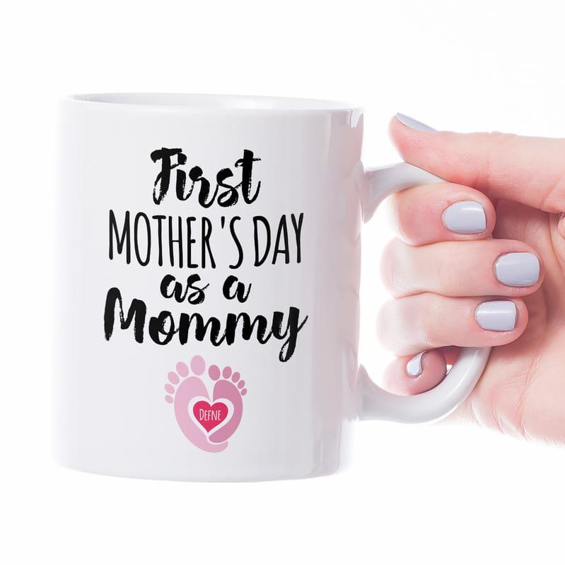 Anne Adayına İlk Anneler Günü Hediyesi Kupa