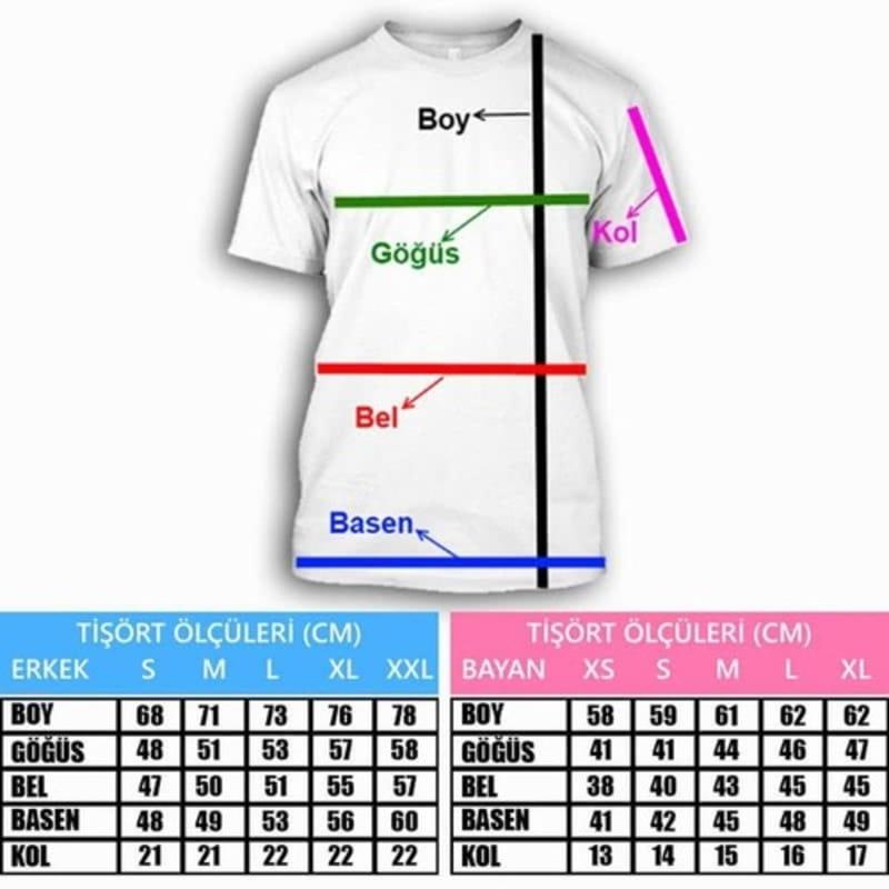 Baba & Evlat Anlamları Tasarımlı Çift Tişörtü