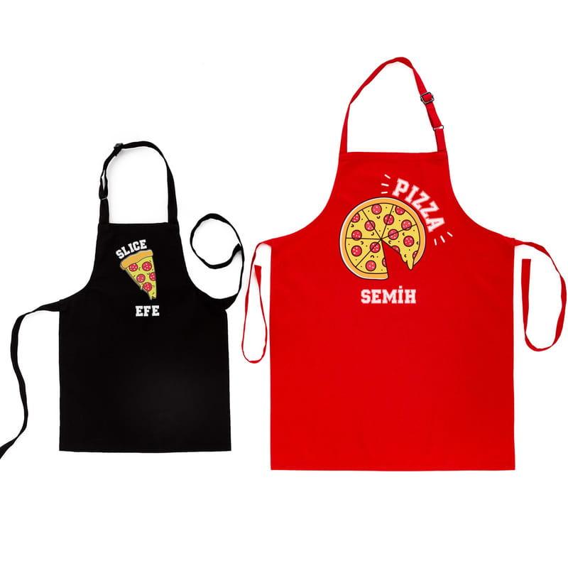 Babalar Günü Hediyesi Baba Çocuk 2li Mutfak Önlük Kombini