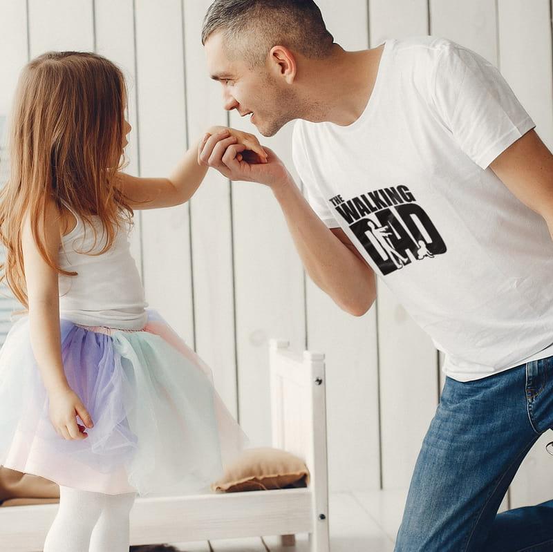 Babalar günü Hediyesi Esprili Zombi Tasarımlı Tişört