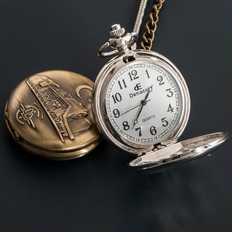Dedenize Özel Hediye İsimli Köstekli Saat