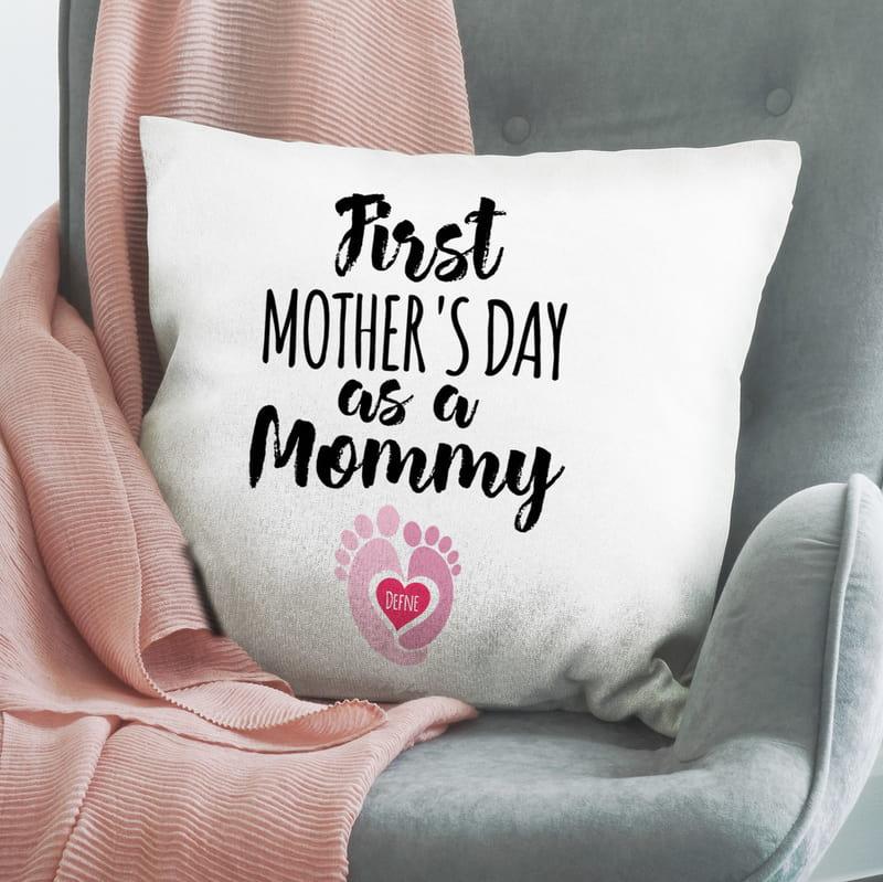 İlk Anneler Gününe Özel Yeni Doğan Hediyesi Yastık