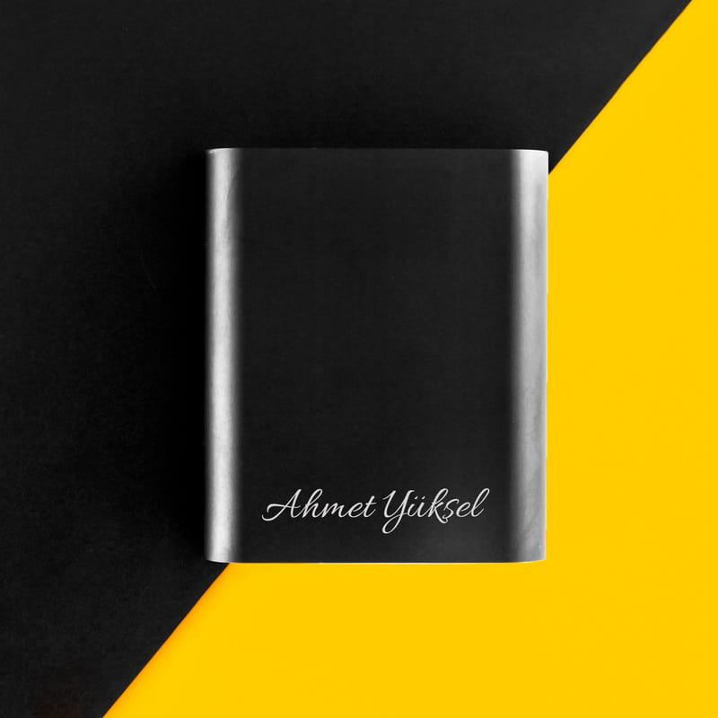 İsimli Taşınabilir Şarj Cihazı Powerbank 10000 mAh
