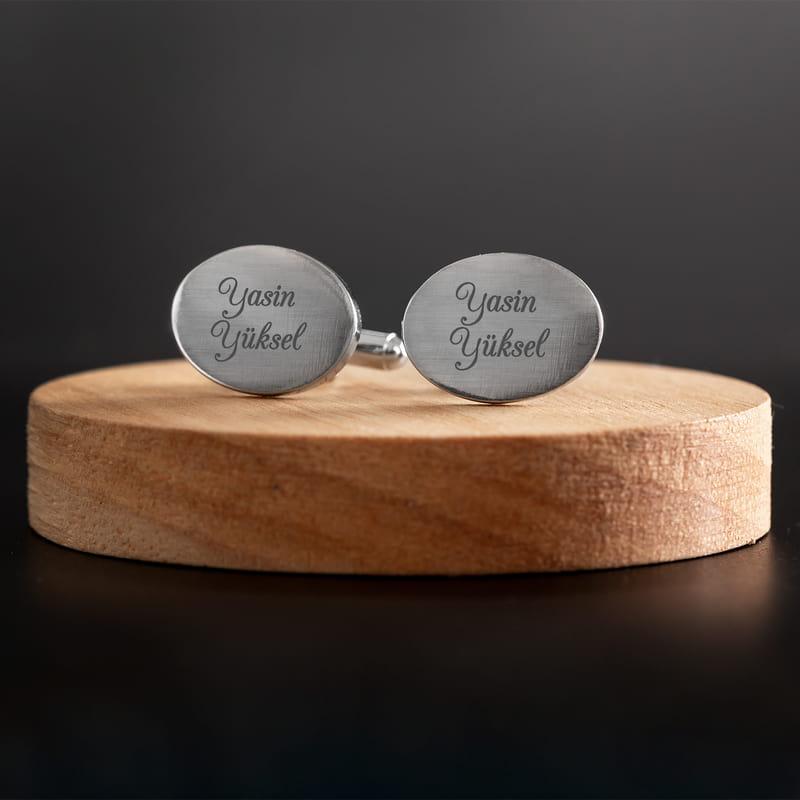 İsme Özel Kutulu Kol Düğmesi