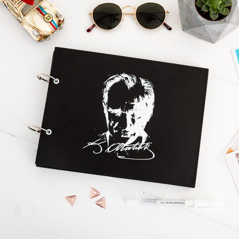 Kendin Yap Atatürk Silüetli Anı Fotoğraf Albümü