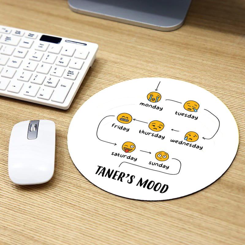 Kişiye Özel Haftanın Modları Baskılı Mousepad