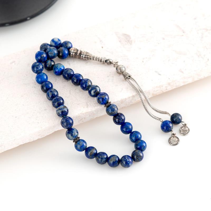 Lapis Lazuli Doğal Taş Tesbih