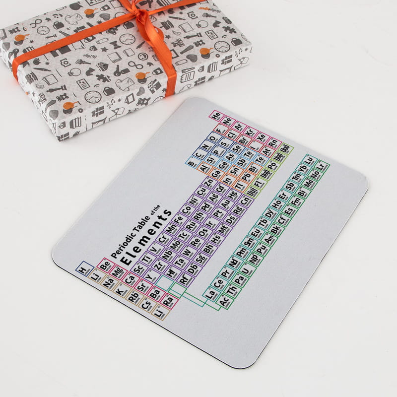 Periyodik Tablo Tasarımlı Hediye Mouse Pad