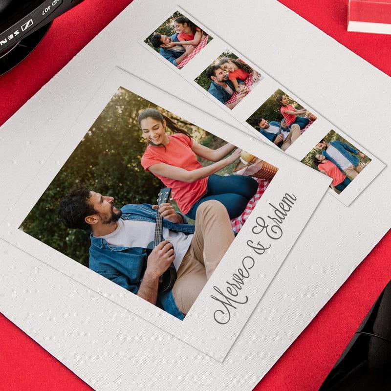 Sevgiliye Yeni İş Hediyesi Fotoğraflı Mouse Pad