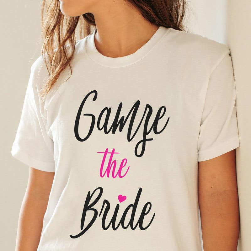 The Bride - Kişiye Özel Gelin Tişörtü