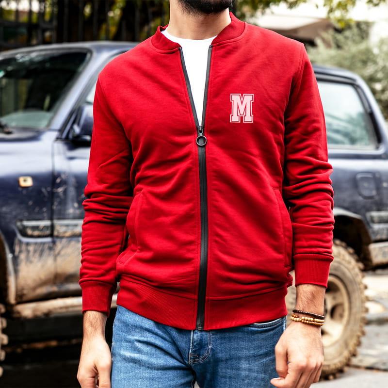 Arkadaşa Hediye Baş Harf Nakış İşlemeli Old School Sweatshirt