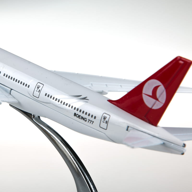 Boeing 777 Metal Maket Uçak