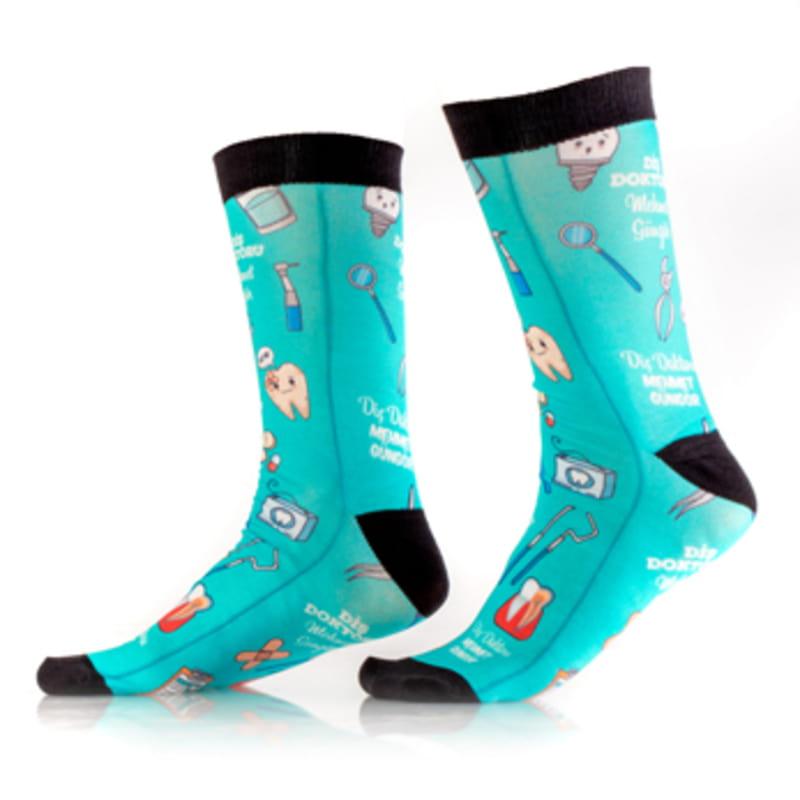 Diş Doktorlarına Hediye İsme Özel Çorap