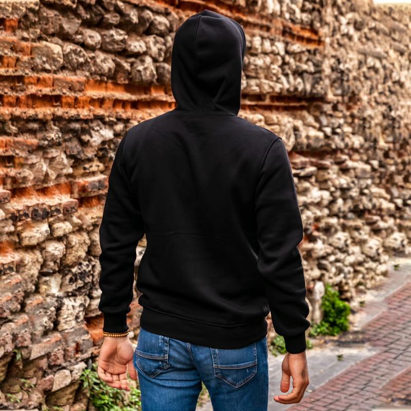 Eşe Hediye Daima Hanımcılık Yazılı Kapşonlu Sweatshirt