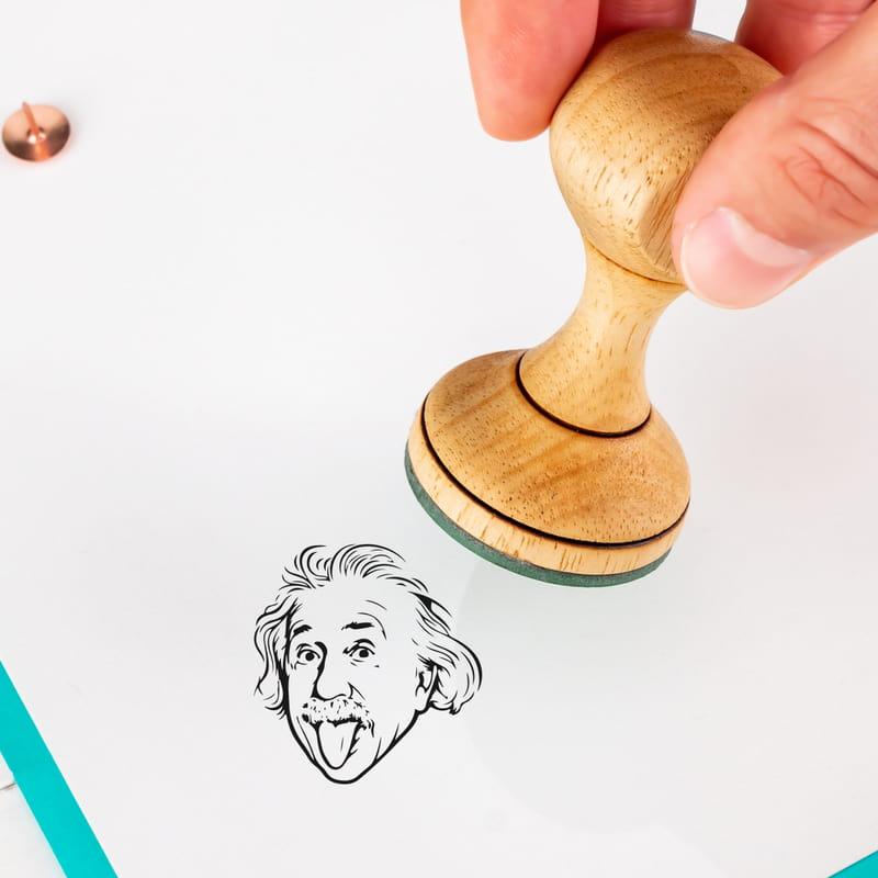 Fizikçilere Hediye Einstein Tasarımlı Esprili Mühür