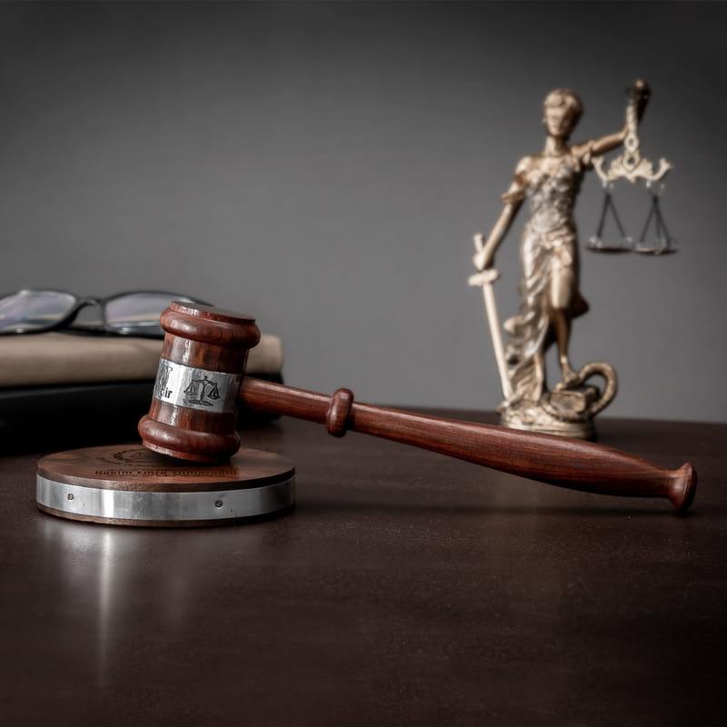HSYK Logolu Mahkeme Tokmağı