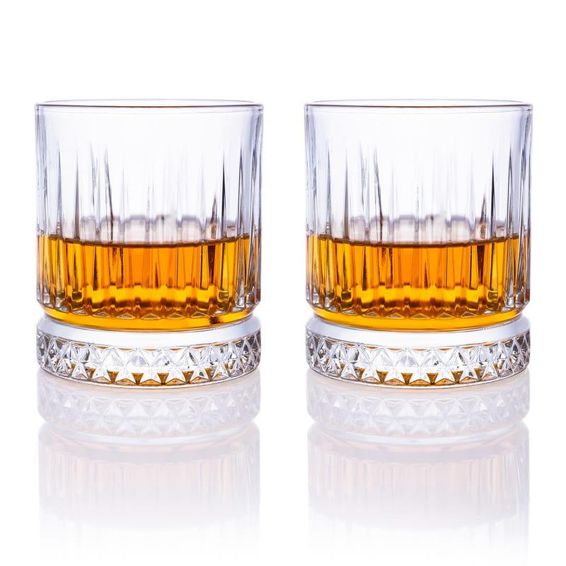İsme Özel Ahşap Kutulu Glasgow 2 li Viski Kadeh Seti