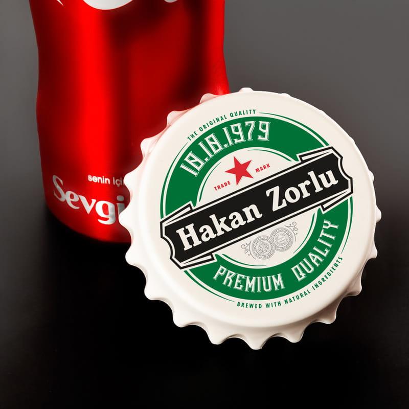 Kişiye Özel Logo Tasarımlı Kapak Magnet Açacak