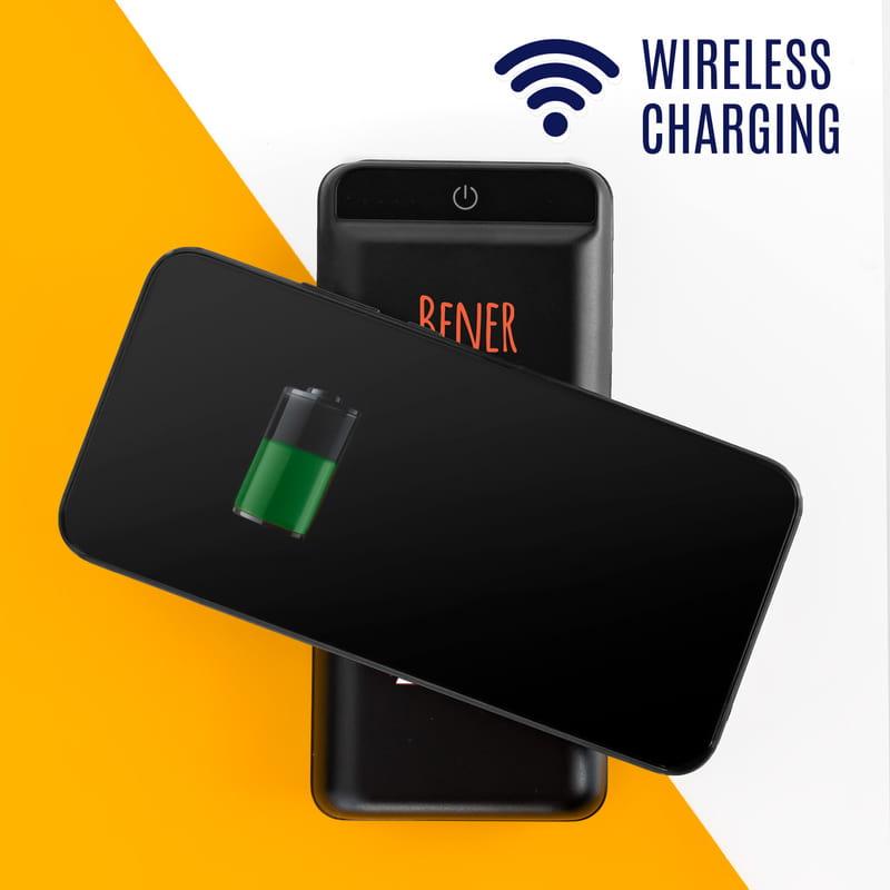 Nikola Tesla Tasarımlı 16.000 mAh Wireless Kablosuz Powerbank