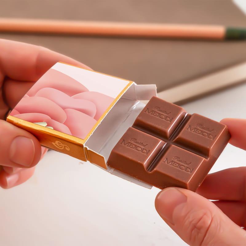 Anneler Günü Hediyesi İsim Yazılı Puzzle Çikolata