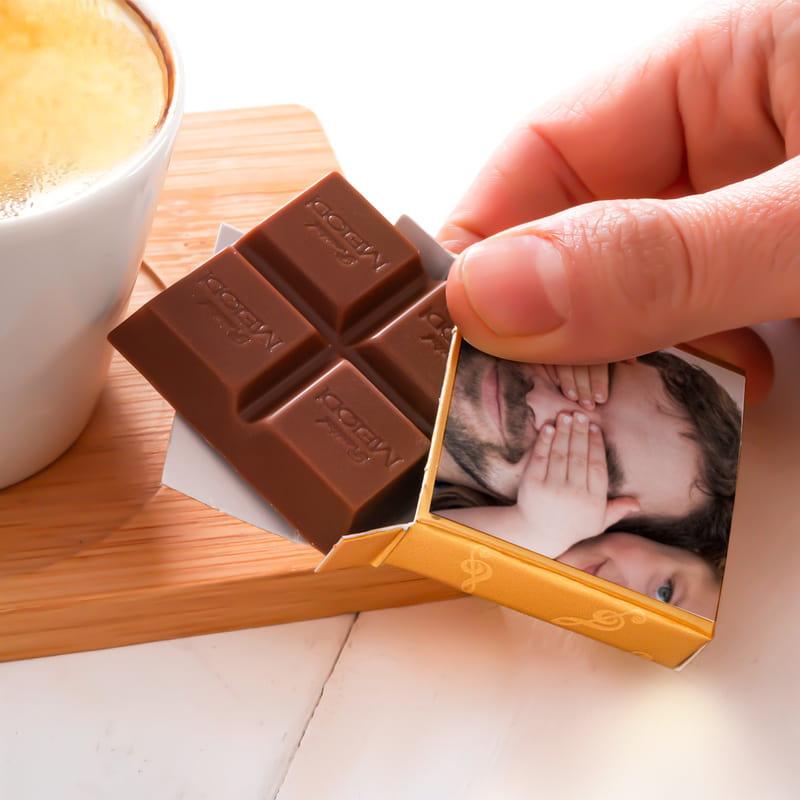 Babalar Günü Hediyesi Fotoğraf Baskılı Çikolata