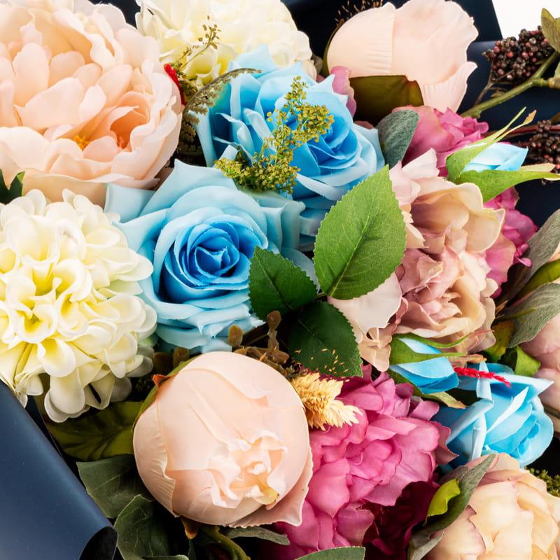 Baharın Renkleri Aranjman Çiçek Buketi