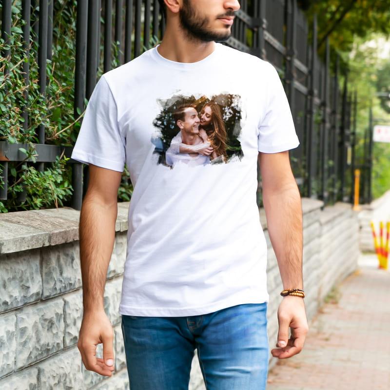 Fotoğraf Baskılı Hediye Tişört