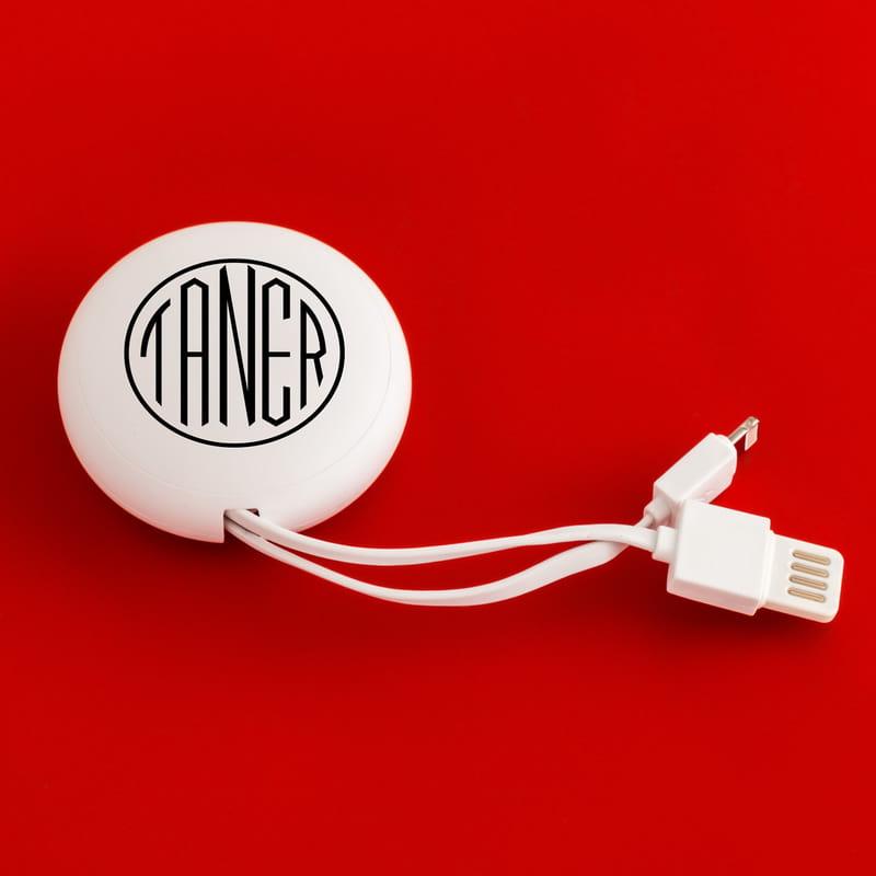 İsime Özel Organize Şarj Kablosu