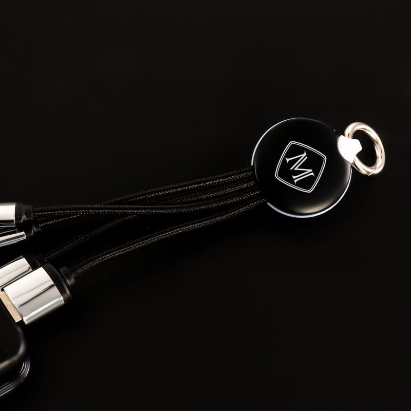İsme Özel Harf Tasarımlı Işıklı Şarj Kablosu