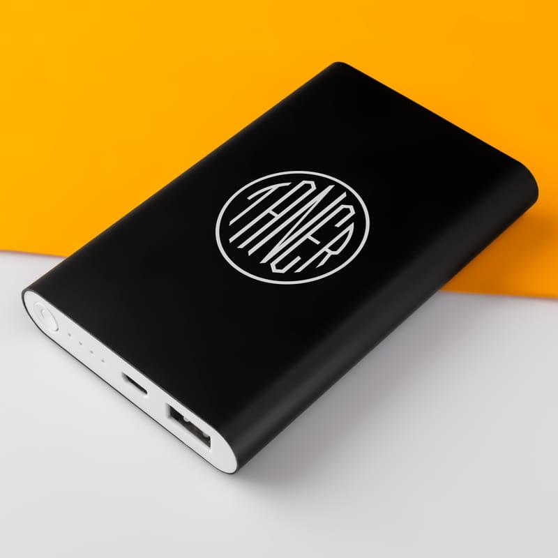 İsme Özel Monogram Logo Tasarımlı Powerbank