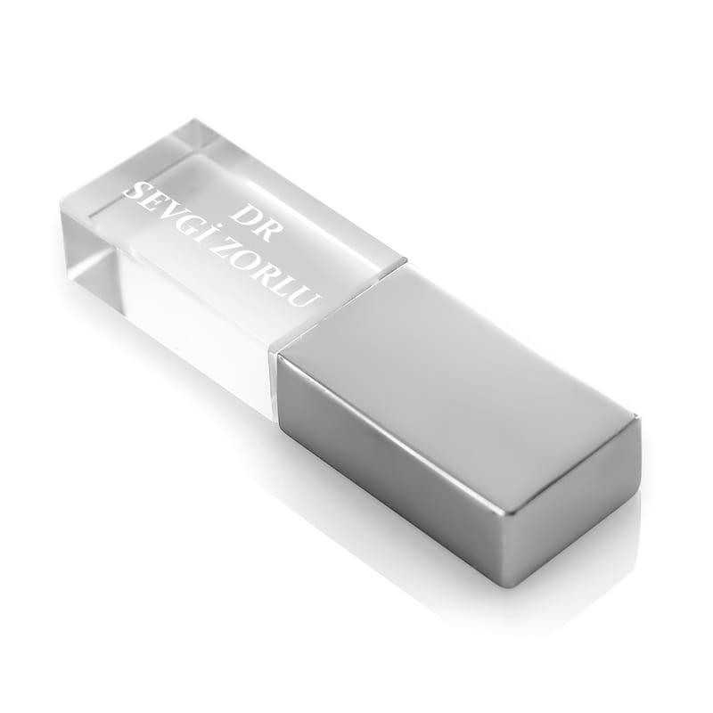 Kişiye Özel Kristal 8GB USB Bellek