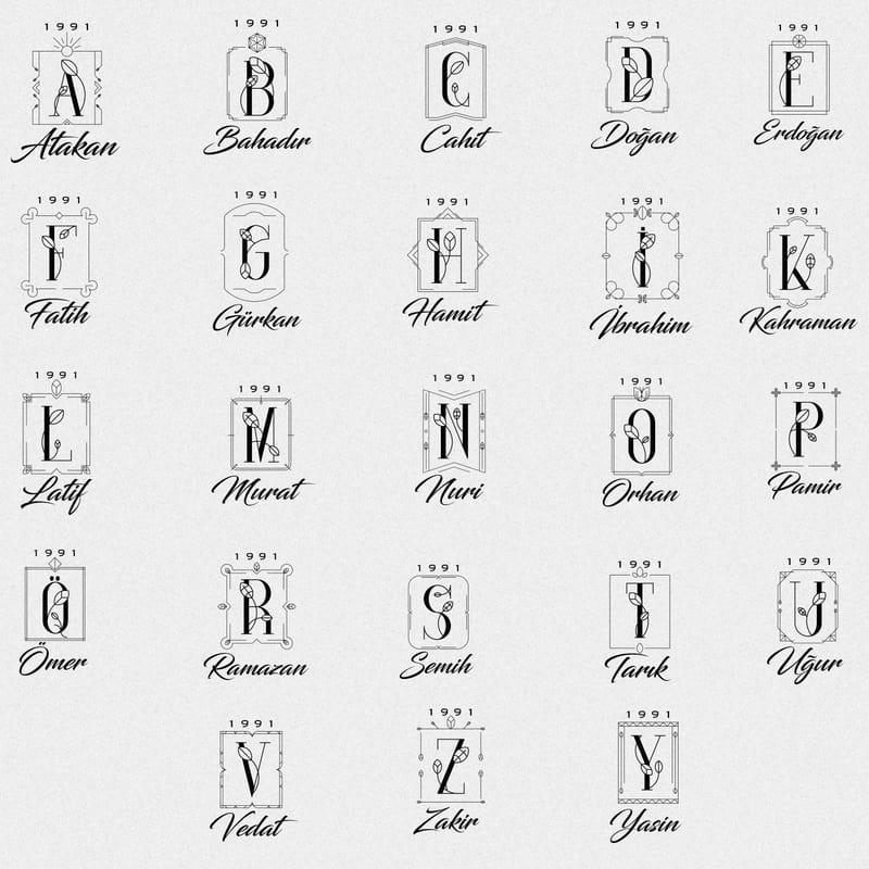 Minimal Harf İşlemeli Tarih Yazılı 7 Oz Paslanmaz Çelik Matara