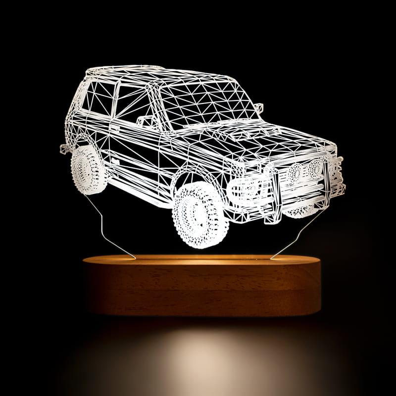 Off Road Tutkunlarına Jeep Tasarımlı Led Lamba
