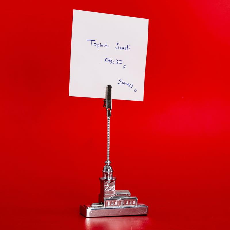 Ofis Hediyesi Kız Kulesi Kağıt Tutacağı
