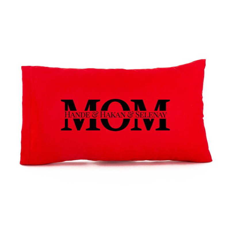 Anneler Günü Hediyesi İsme Özel Hediye Baskılı Yastık