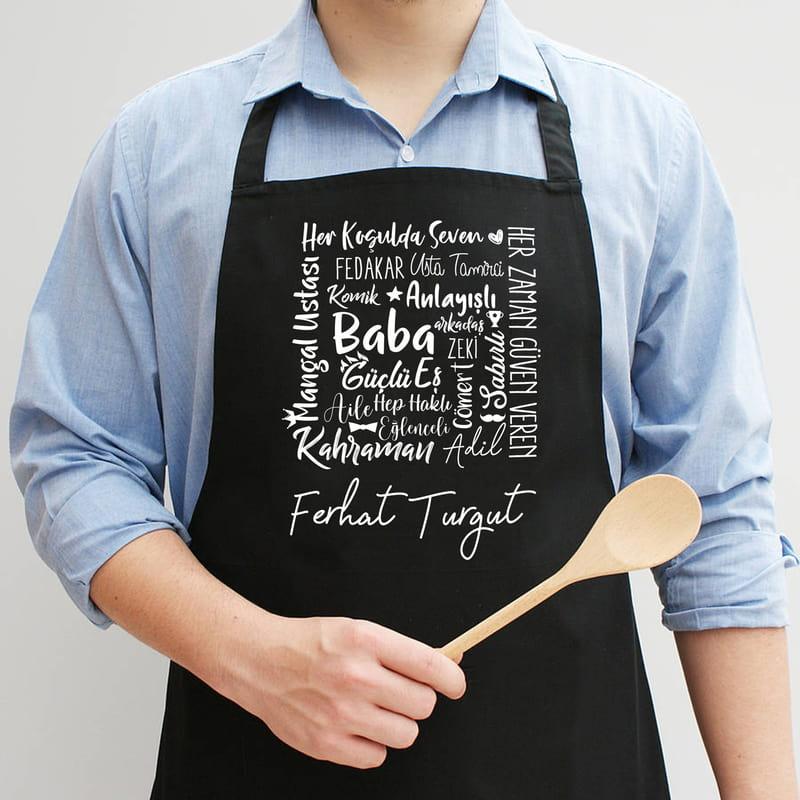 Babalar Günü Hediyesi Mutfak Önlüğü
