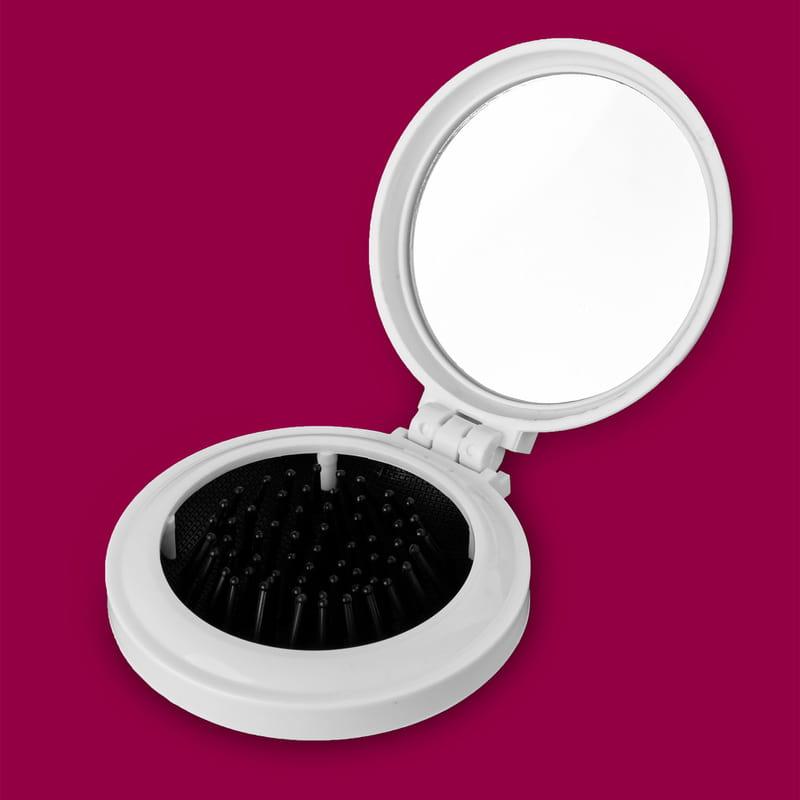 Eşe Hediye İsme Özel Taraklı Makyaj Aynası