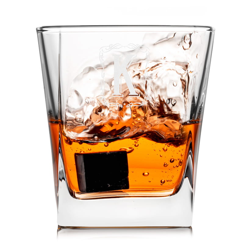 İsme Özel Retro Tasarımlı Premium Kutulu Orkney Viski Seti