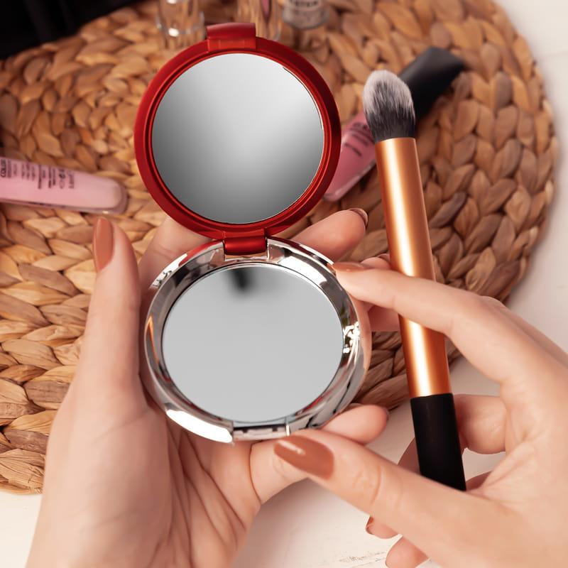 Kadınlara Özel Hediyelik Powerbank Ayna Kalem Seti