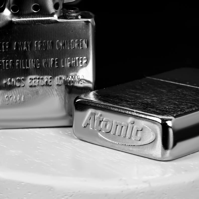 Kişiye Özel El Yazısı Tasarımlı Metal Çakmak Seti