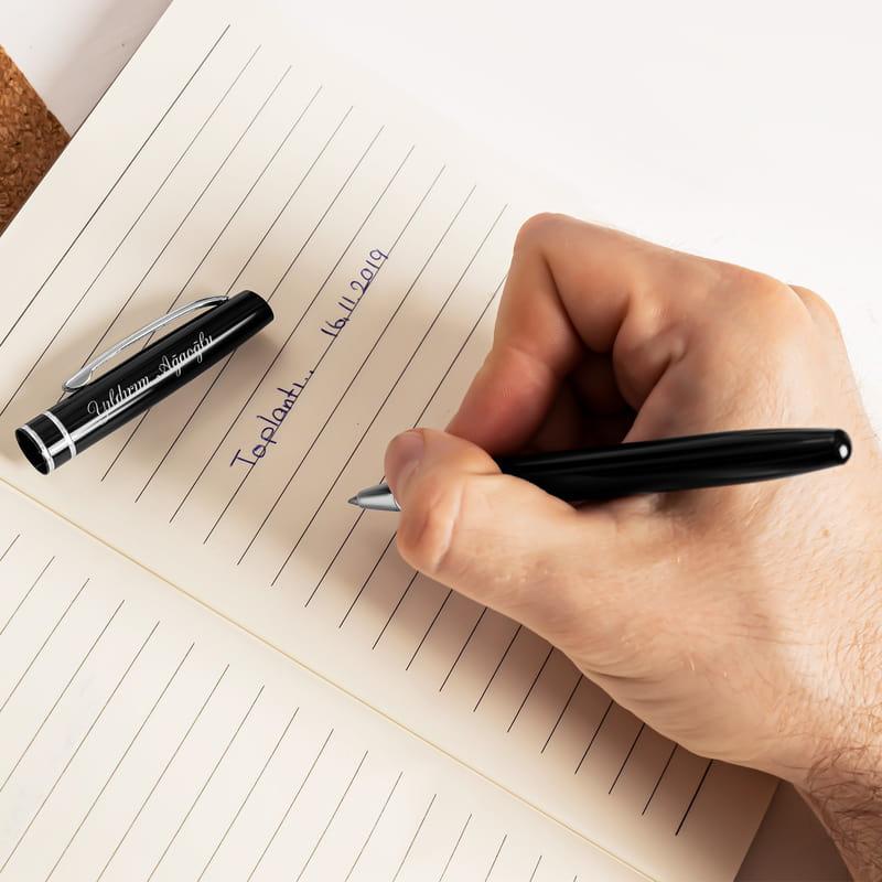 Kişiye Özel İsimli Kutulu Tükenmez Kalem
