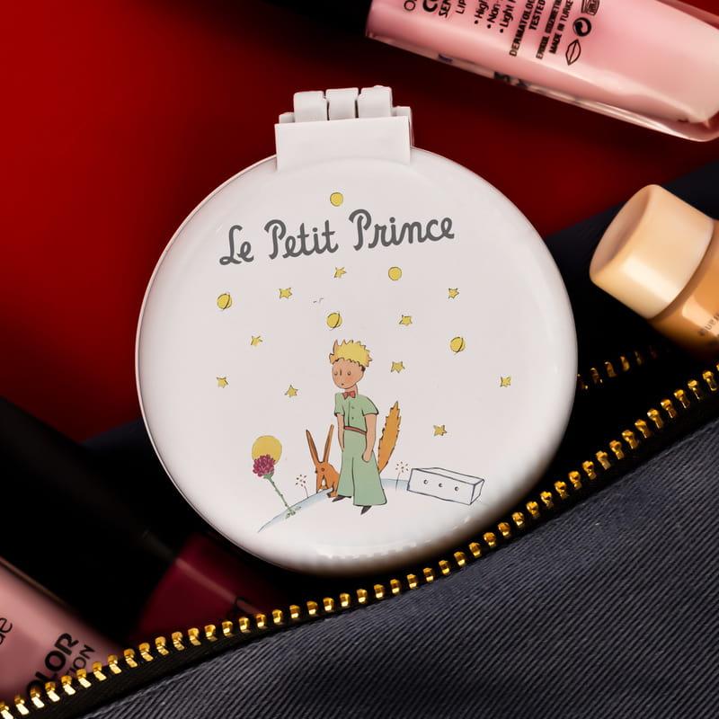 Küçük Prens Tasarımlı Taraklı Makyaj Aynası