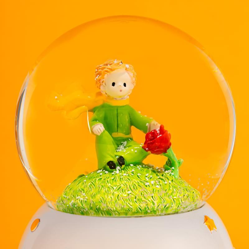The Little Prince Müzik ve Renkli Işıklı Kar Küresi