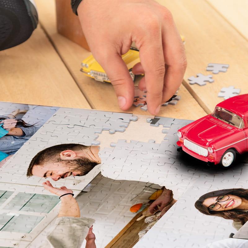 1000 Parça 5 li Fotoğraf Kolajlı Puzzle