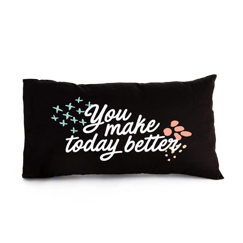 Bugünü Daha İyi Yapıyorsun Mottolu Bel Yastığı