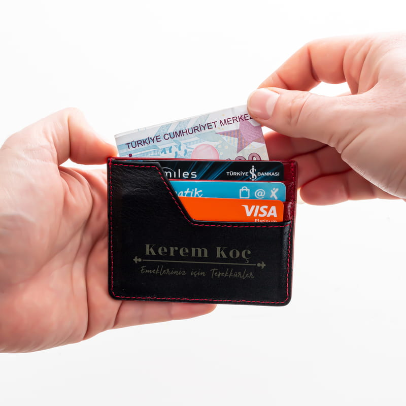 Erkek Öğretmene Hediye Kişiye Özel Kredi Kartlık