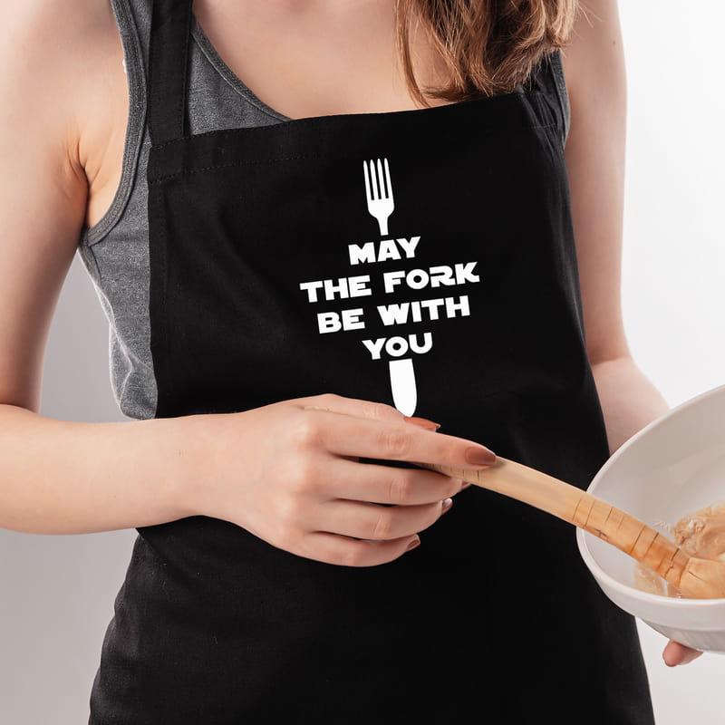 Film Repliği Tasarımlı Hediye Mutfak Önlüğü