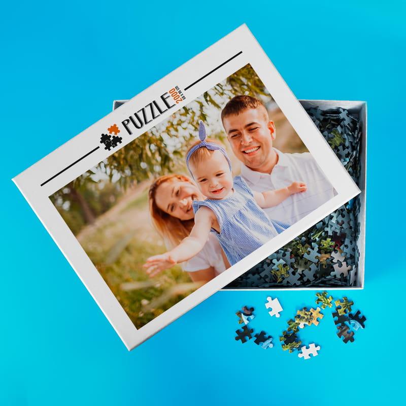 Kişiye Özel Kutulu 2000 Parça Puzzle